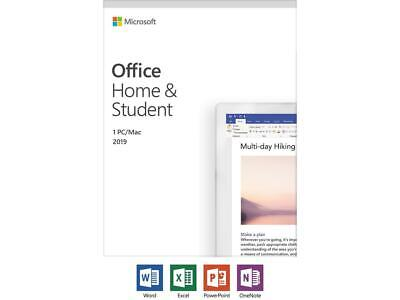 $ CDN180.99 • Buy Microsoft Office Home And Student 2019 FRENCH - 1 Device, Windows 10 PC/Mac Key