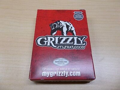 $ CDN6.98 • Buy Grizzly Snuff Chew Playing Cards American Snuff Co. Advertising Sealed New Deck