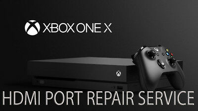 $43.64 • Buy Xbox One X HDMI Port Module Connector Damaged Faulty Repair Replacement Service