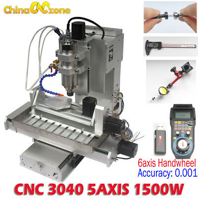 $ CDN4400.26 • Buy 1500W  CNC Router 3040 5axis Router Engraving Carving Metal Milling DIY Machine