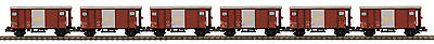 $ CDN237.26 • Buy MTH  O  Scale 2 Rail SBB-CFF Guterwagen/Box 6 Car Set 20-90913