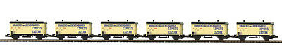 $ CDN237.26 • Buy MTH  O  Scale 2 Rail Brauerei Loewengarten Bierwagen/Reefer 6 Car Set 20-90906