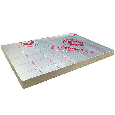 Celotex GA4090 Kingspan Recticel GP Insulation Board 2400x1200 90mm X 8 Sheets  • 311.28£