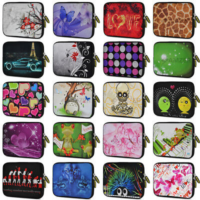 AMZER 10 Inch Neoprene Sleeve Soft Zip Pouch For IPad Kindle Tablet Asus Samsung • 7.99£