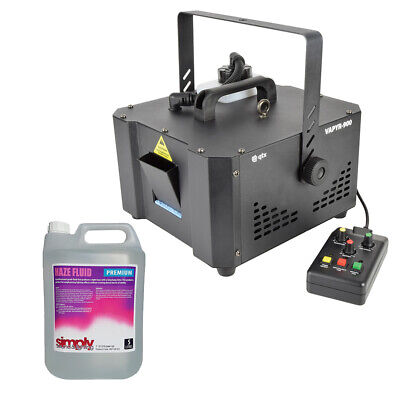 QTX VAPYR-900 Haze Machine 900W Hazer Timer Remote DMX Disco DJ Package • 279£