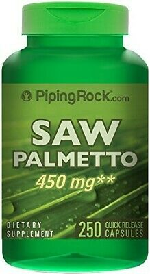 AU37.95 • Buy Saw Palmetto 450 Mg 250 CapsSupport Urinary Tract Health & Men Health Sale