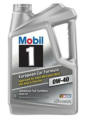 $ CDN34.85 • Buy Synthetic Motor Oil, 0W-40 Mobil 1 120760, 5 Quart Pack For Reduced Engine Wear