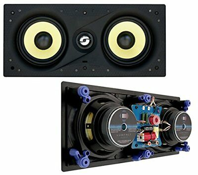 Compact Audio Fidelity W5 LCR Dual 5.25  80W RMS In-Wall Centre Speaker  • 89.99£