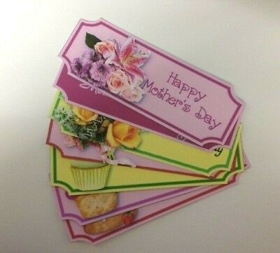 £1.50 • Buy 7 Large HAPPY MOTHER'S DAY Sentiment Banners Card Making Craft Embellishments