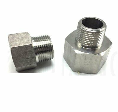 $14.98 • Buy Metric To Pipe M16  M16X1.5 Male To 1/2  NPT Female Fitting Adapter