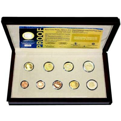$ CDN232.28 • Buy Greek KMS 2012 Pf 1 Cent - 2 Euro Commemorative Coin Case Certificate