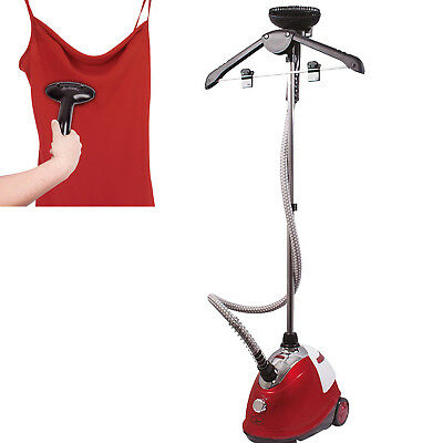 View Details Upright Garment Hanging Machine Steam Iron Steamer With 1.8L Water Tank & Brush • 31.99£