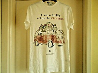 £14.99 • Buy Volkswagen Vw Fully Licensed Official T Shirt Top  Christmas Various Sizes Bnwt