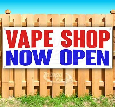 $ CDN116.59 • Buy VAPE SHOP NOW OPEN Advertising Vinyl Banner Flag Sign Many Sizes