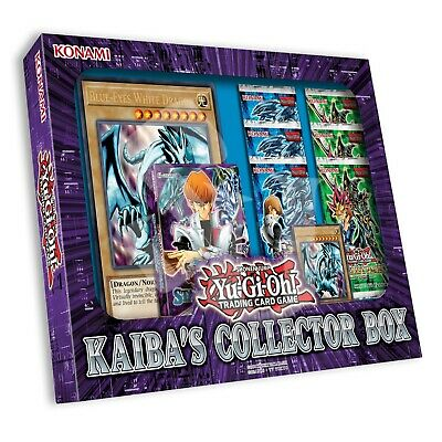 AU70.86 • Buy KAIBA'S COLLECTOR BOX | FACTORY SEALED | Blue-Eyes White Dragon Deck YuGiOh