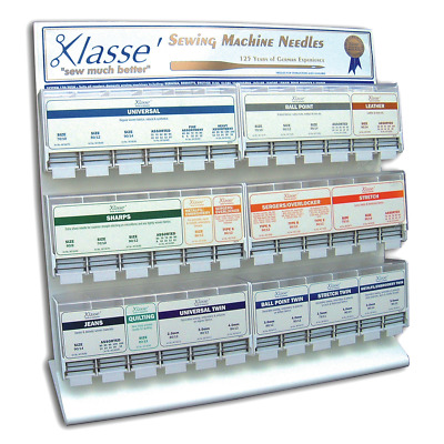 Klasse Sewing Machine Needles Universal, Stretch, Leather, Ball Point, Jeans Etc • 4.29£