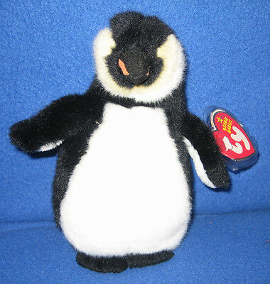 eb0771dcd3f TY ADMIRAL The PENGUIN BEANIE BABY - MINT With MINT TAGS • 8.95