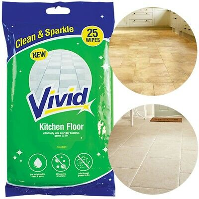 125x CITRUS FLOOR WET WIPES Large Duster Cleaner Fragrance Stone Cloths Refill • 11.25£