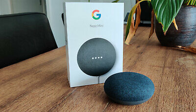 AU65.80 • Buy Google Home Mini Smart Speaker & Home Assistant Charcoal