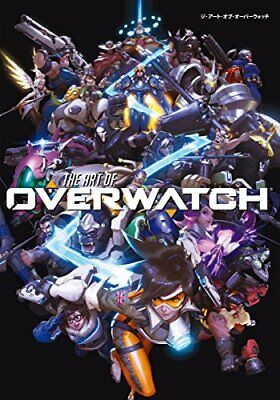 AU113.84 • Buy The Art Of Overwatch Art Book Japanese Game Character Design Illustration Japan