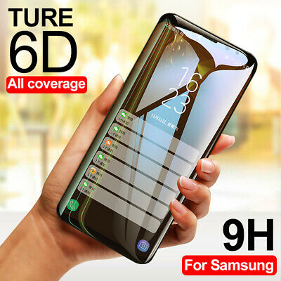$ CDN3.78 • Buy 6D Full Cover Tempered Glass Screen Protector For Samsung Galaxy Note 9 S9 Plus