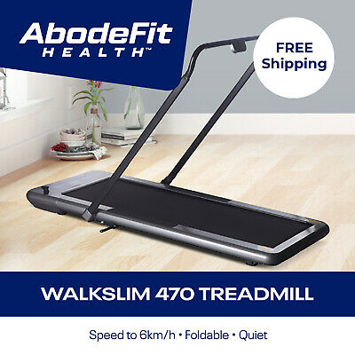 AU795 • Buy NEW WalkSlim 470 Compact Foldable Home Office Walking Treadmill Exercise Machine