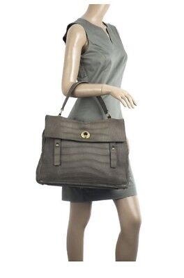 bcc0a5252e84 AUTHENTIC YSL Yves Saint Laurent Muse Two Handbag Leather With Free YSL  Necklace • 588.00