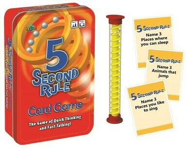 AU12.59 • Buy 5 Second Rule Tinned Game