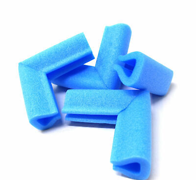 £4.29 • Buy PICTURE FRAME CORNER PROTECTORS BLUE PE FOAM 15mm - 60mm BABY SAFETY GUARD EDGE