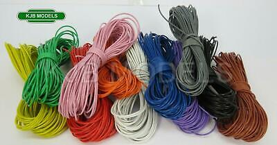 N OO O Model Railway Hook Up / Equipment Wire 7/0.2mm Cable - Choice Of Length • 2.25£