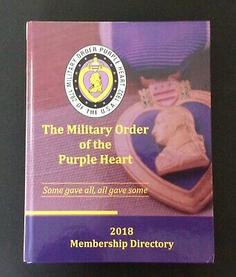 $99.95 • Buy 2018 Military Order Of The Purple Heart Membership Directory - 460 Pages HB