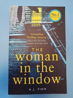 AU15 • Buy The Woman In The Window By A.J. Finn (Trade Paperback, 2018)