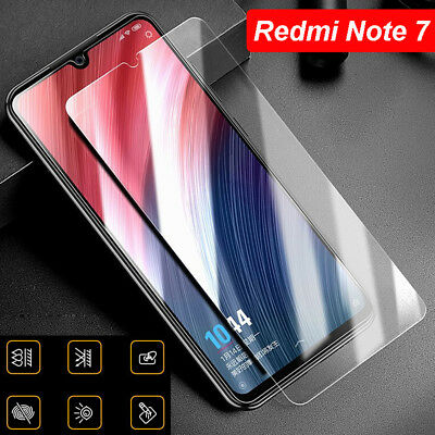 AU2.33 • Buy 3 Tempered Glass Screen Protector Full Cover Film Supply For Xiaomi Redmi Note 7