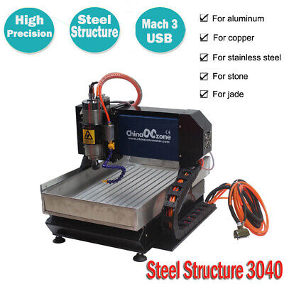 $2199 • Buy CNC 3040 3axis Router Engraving Cutting Machine Mach3 USB SteelStructure Machine