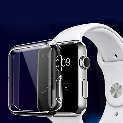 $ CDN2.94 • Buy For Apple Watch Series 4 Screen Protector Cover Case Soft Clear Thin 40mm 44mm