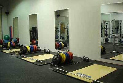 Acrylic Mirror Sheet 500mm X 1000mm X 3mm Best Reflection Ideal For Home Gym's • 34.63£