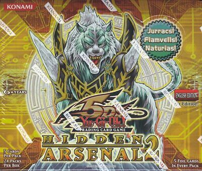 Yugioh Hidden Arsenal 2 1st Edition Booster Box Blowout Cards • 83.68£