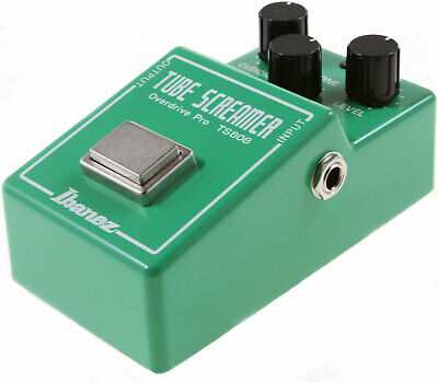 The Holy Grail Of Tube Screamers - The Ibanez TS808! FREE Ibanez Cable Included • 179.99$