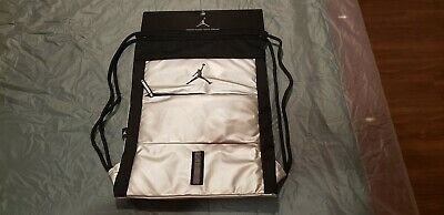 750cf96605 Nike Air Jordan Jumpman Drawstring Gym Bag Sack Backpack - Brand New W   Tags!