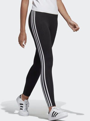 AU19.99 • Buy Ladies Full Length Gym Exercise Tights ADIDAS 3 Stripe Mint Green, Climalite