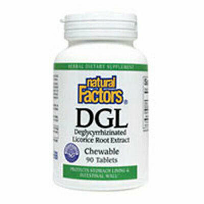 DGL Licorice Root Extract 90 Chewable Tabs • 13.28£