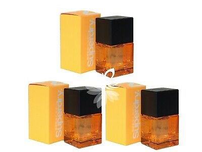 New Superdry Orange Cologne 25ml EDC X3 Spray Men Perfume • 32.99£