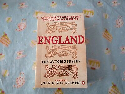 AU6.50 • Buy England The Autobirography Edited By John Lewis-Stempel (paperback)
