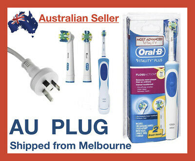 AU47.49 • Buy Oral-B Vitality Braun Power Floss Action Electric Rechargeable Toothbrush Brush