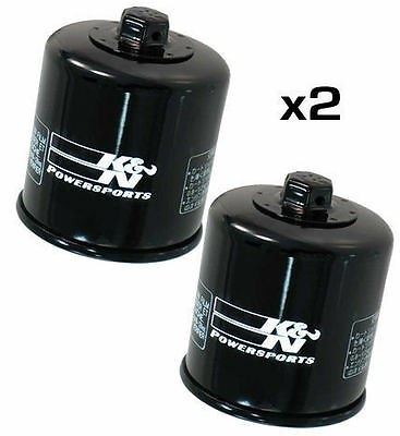 $30.39 • Buy 2x K&N Oil Filter For Suzuki GSXR600 K2 2002 KN138