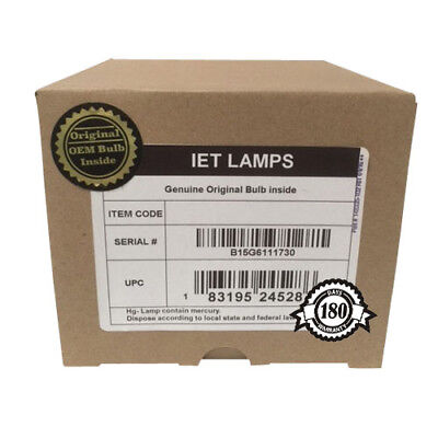 Genuine SAVILLE AV TMX-1700XL, TMX-2000, TS-1700 Projector Lamp VLT-XL8LP • 141.95£