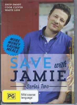 AU18.95 • Buy SAVE WITH JAMIE OLIVER Series/Season Two NEW & SEALED (2 X DVD) NEW & SEALED
