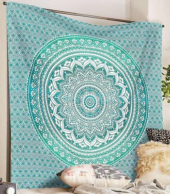 AU26.99 • Buy Urban Outfitters Queen Tapestry Mandala Bedding Cover Picnic Sheet Wall Hanging