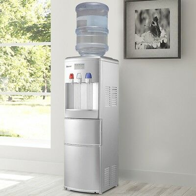 $546.99 • Buy Top Loading Hot/Cold Water Cooler Dispenser With Built-In Ice Maker Home Office
