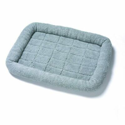 £20.99 • Buy Soft Crate Bed Plush Mat For Kennel Puppy Dogs Pet Cage | Washable Warm Grey